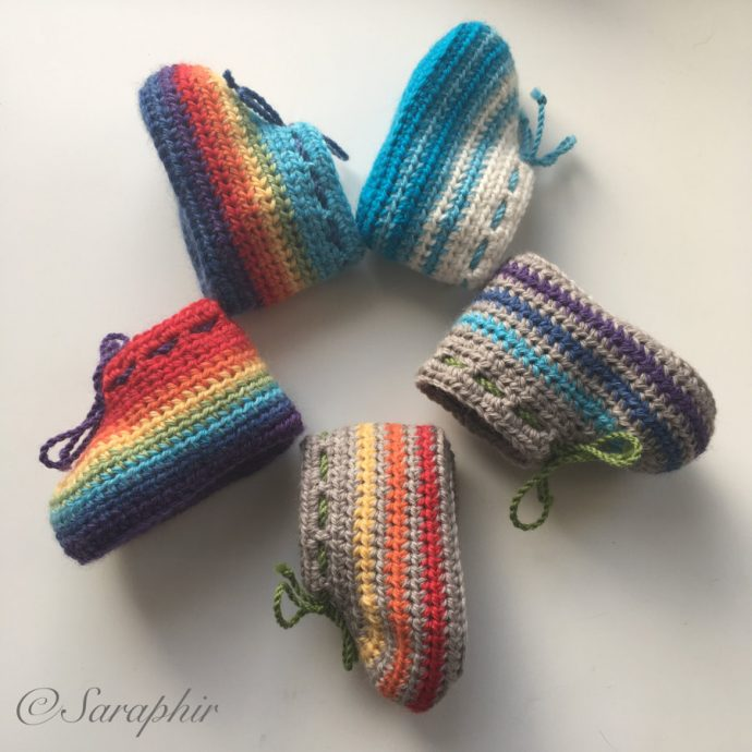 Happy Baby Booties