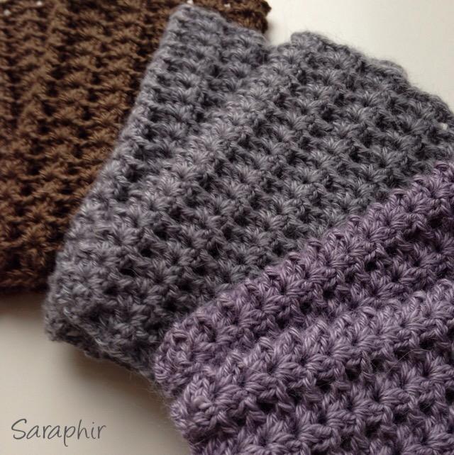 Iris Wrist Warmers A Crochet Cuff Pattern By Saraphir