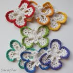 Free pattern for Butterfly Garland