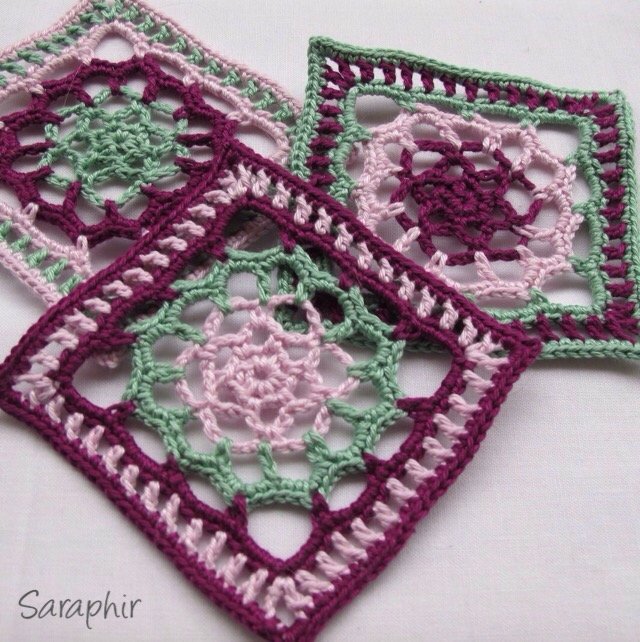 Lace Flower Square