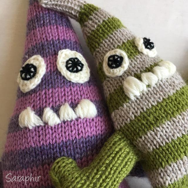 Monster knitting pattern