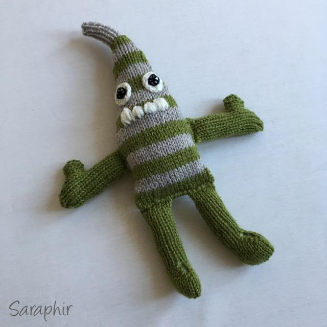 mini monster knitting pattern