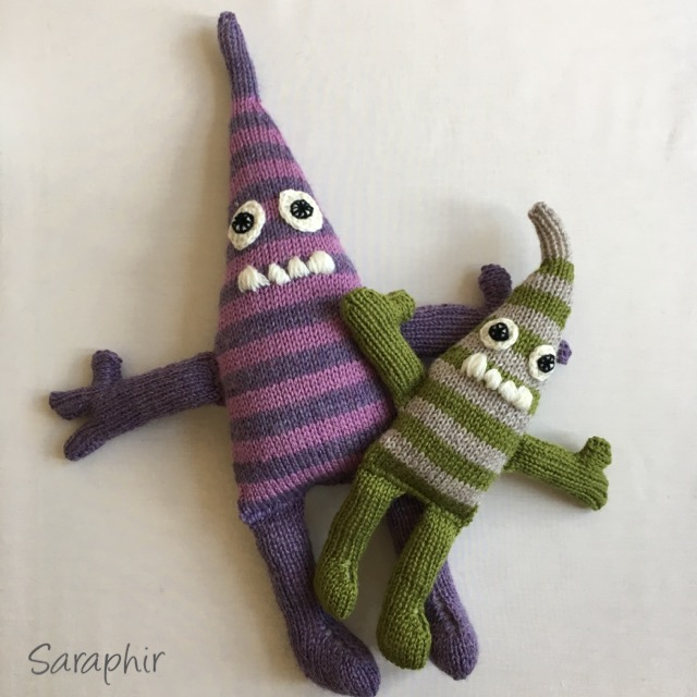 Monster knitting pattern