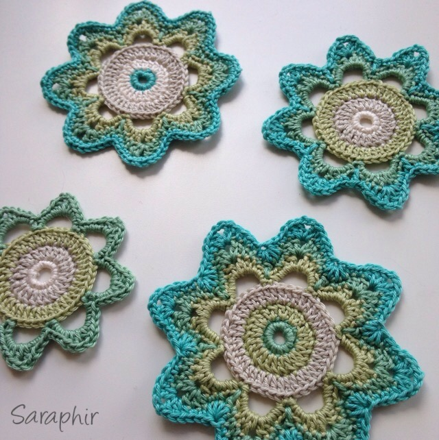 Retro Flower Crochet Pattern
