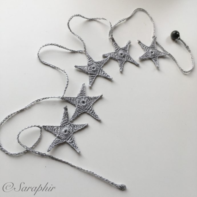Simple Star Garland