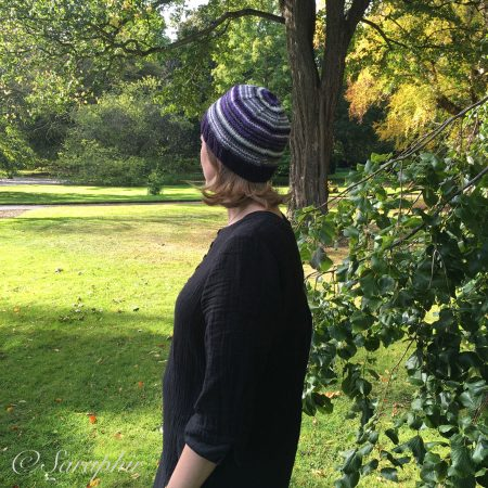 knitted adult bentie beanie