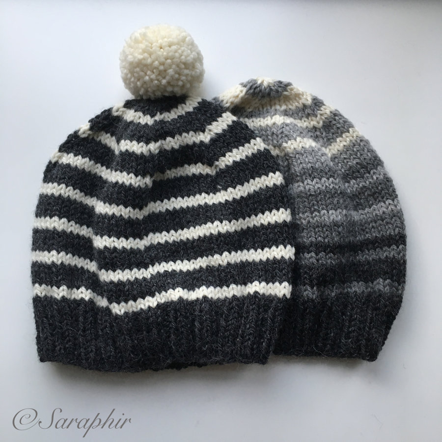 Adult Bentie Beanie A Free Knitting Pattern For A Simple Beanie