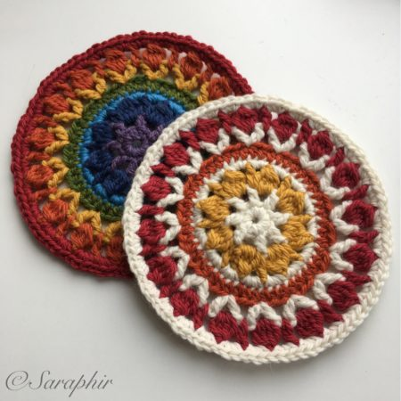 Flower Wheel Coaster