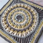 Medium Flower Wheel Circle Square