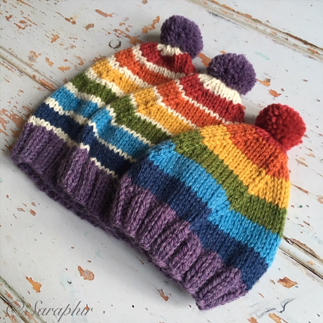36663673b4b5e This pattern is a very cute knitted Baby Pixie Hat in three sizes – 0 – 3  months