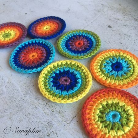 rainbow circles by Saraphir