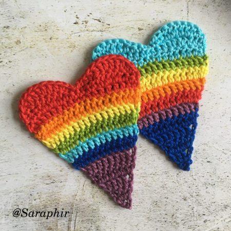 affinity heart crochet pattern